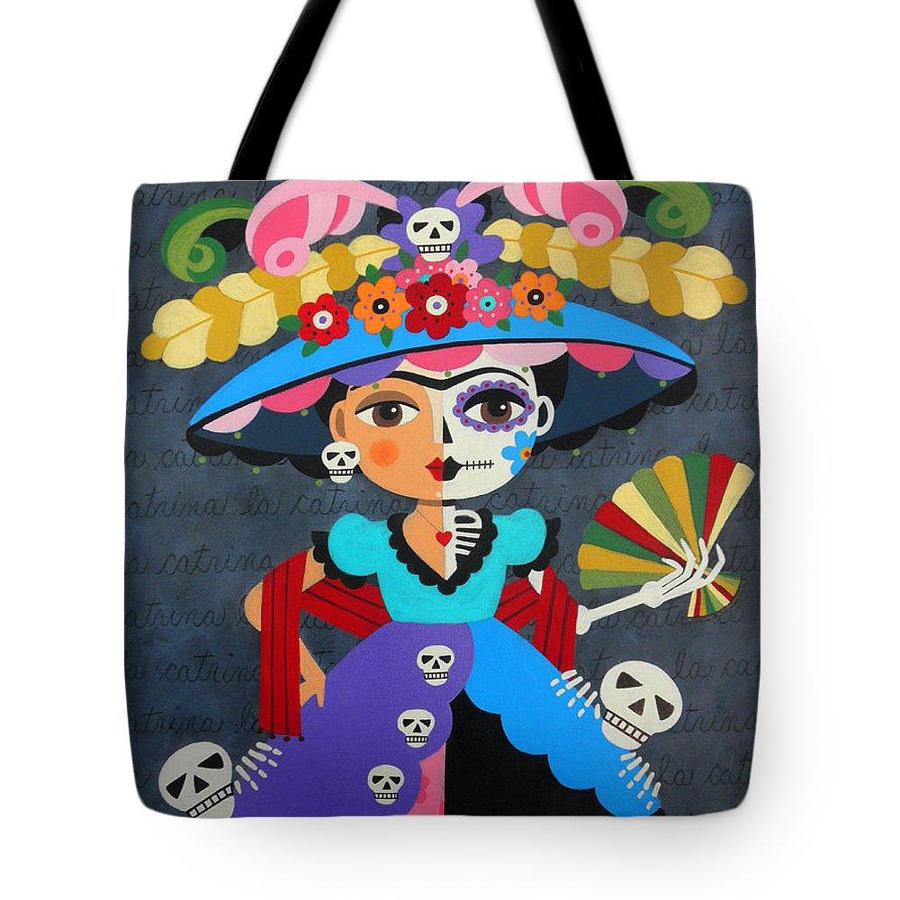 La Catrina Tote Bags Fine Art America