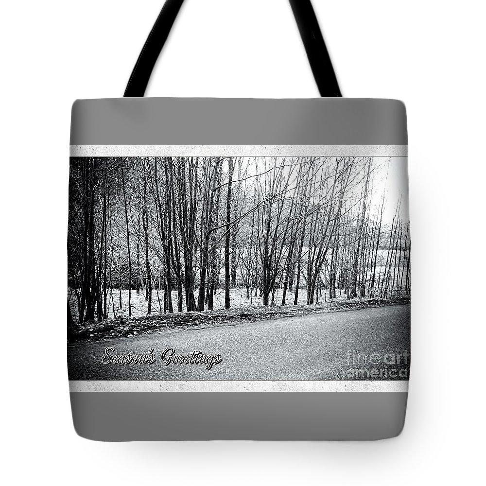 Dalmally Tote Bag featuring the photograph Frosty Morning At Dalmally by Joan-Violet Stretch
