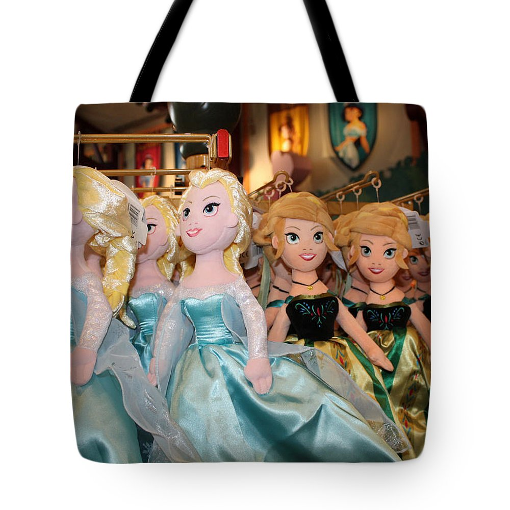 Disney World Tote Bag featuring the photograph Frozen by David Nicholls