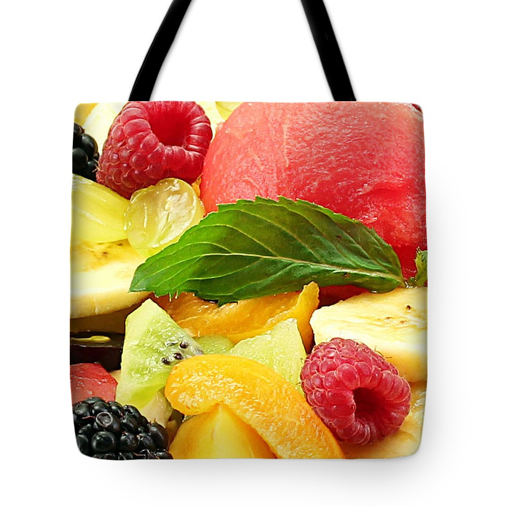 Fruit Tote Bag featuring the photograph Fruit Salad by Munir Alawi