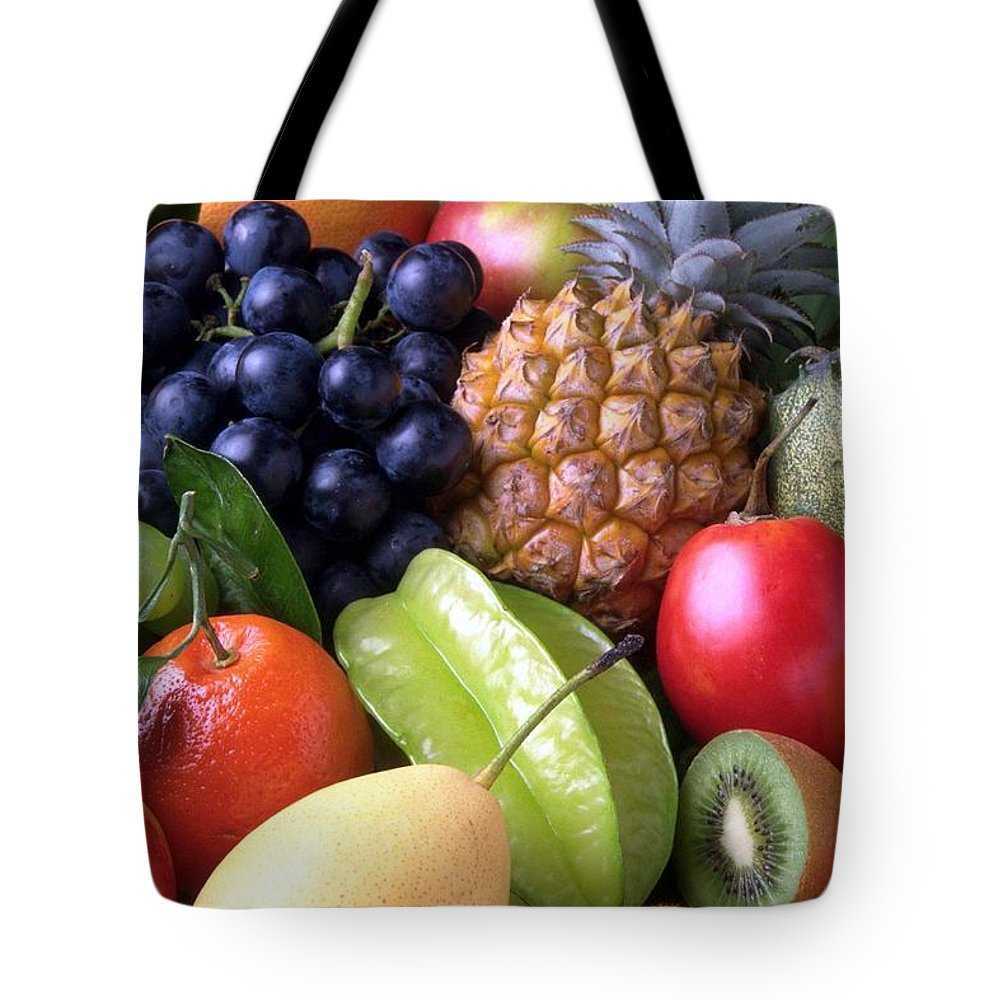 Fruit Tote Bag featuring the photograph Fruits by FL collection