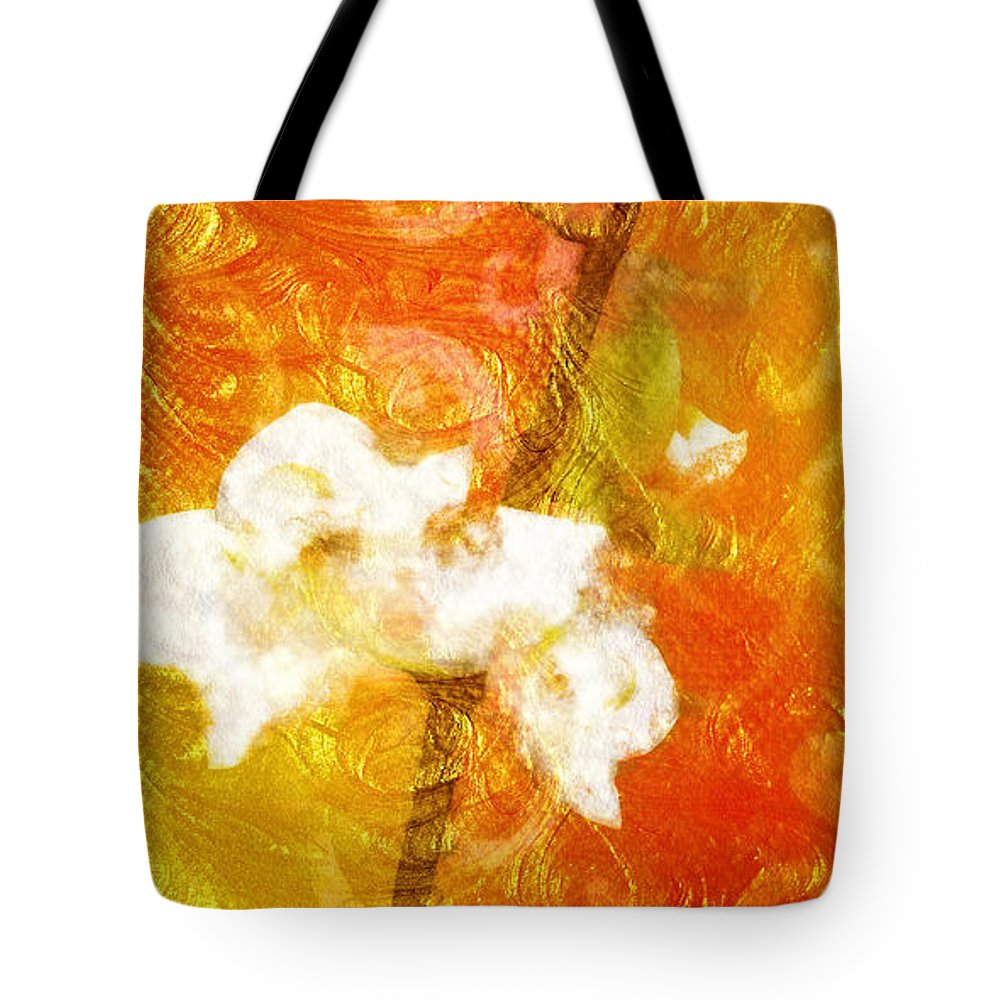 Fruits Of Love Tote Bag featuring the painting Fruits Of Love by Mo T