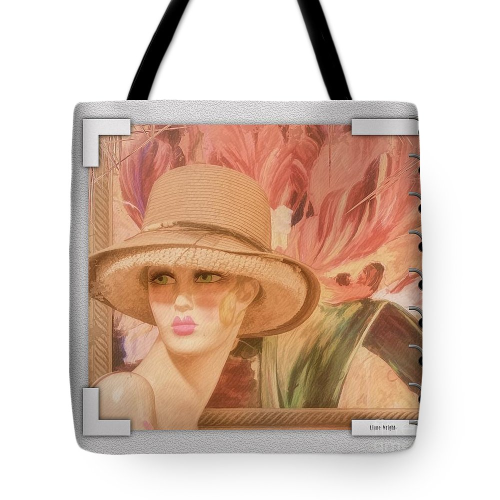 Fun And Flirty Tote Bag featuring the photograph Fun And Flirty by Liane Wright