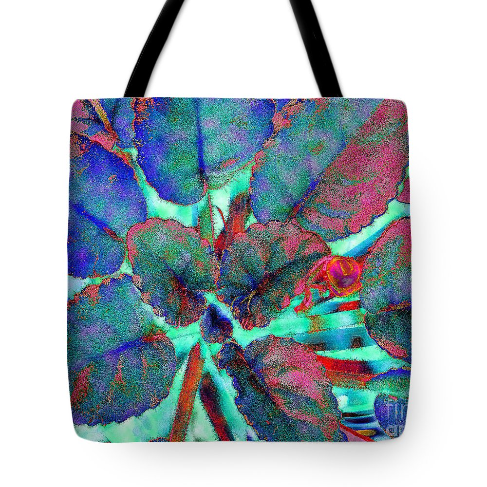 Diane Dimarco Art Tote Bag featuring the photograph Furry Leaves 1 by Diane DiMarco