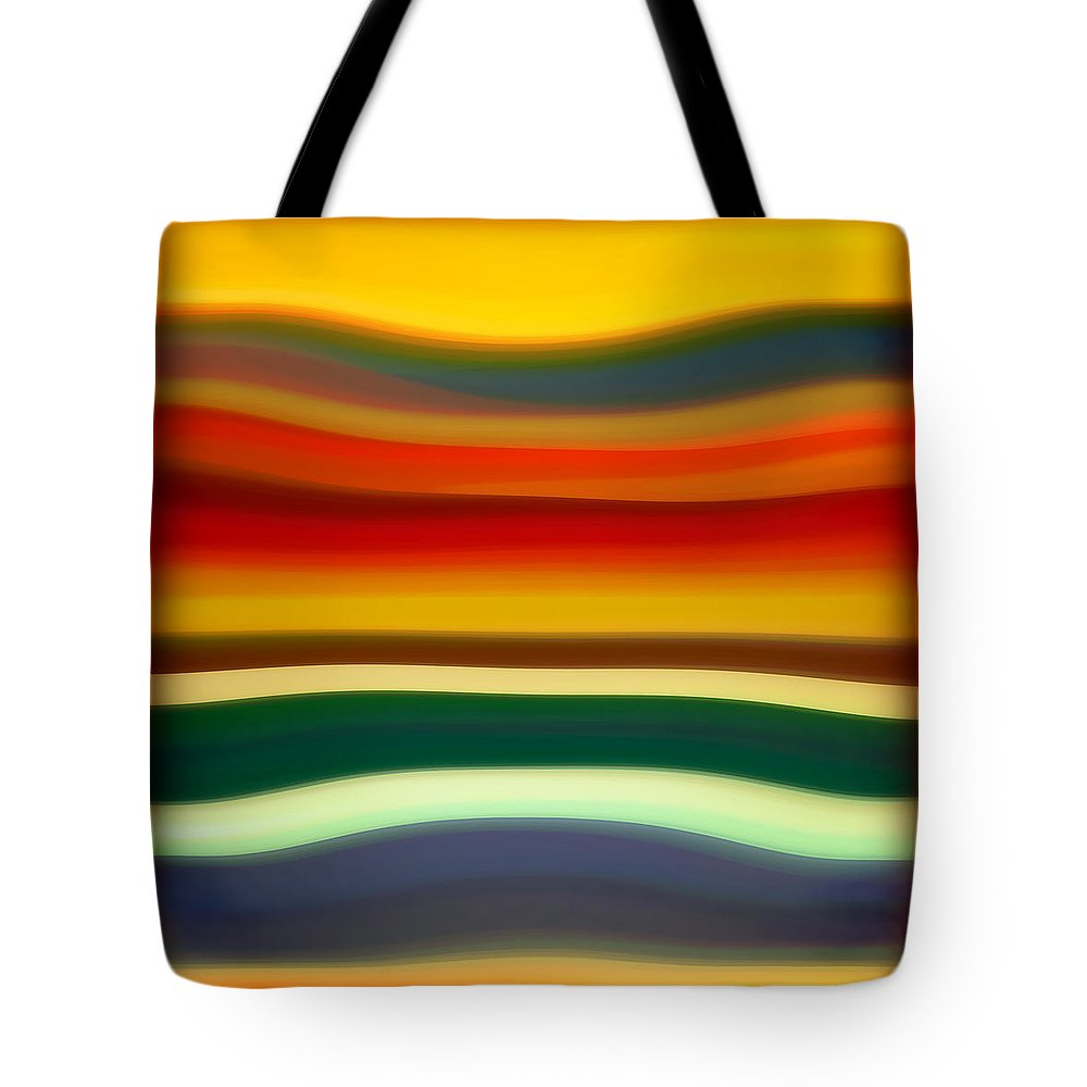 Fury Tote Bag featuring the painting Fury Sea 2 by Amy Vangsgard
