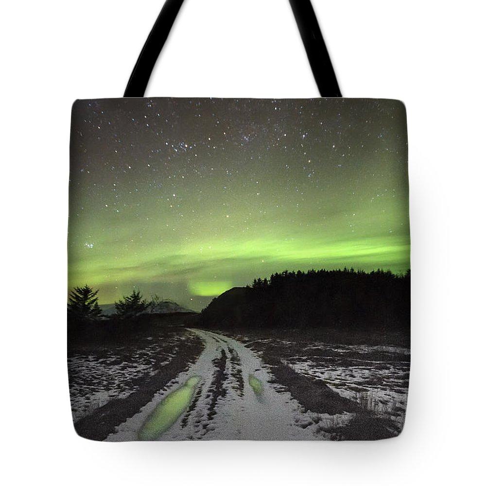 Kremsdorf Tote Bag featuring the photograph Galactic Dream by Evelina Kremsdorf