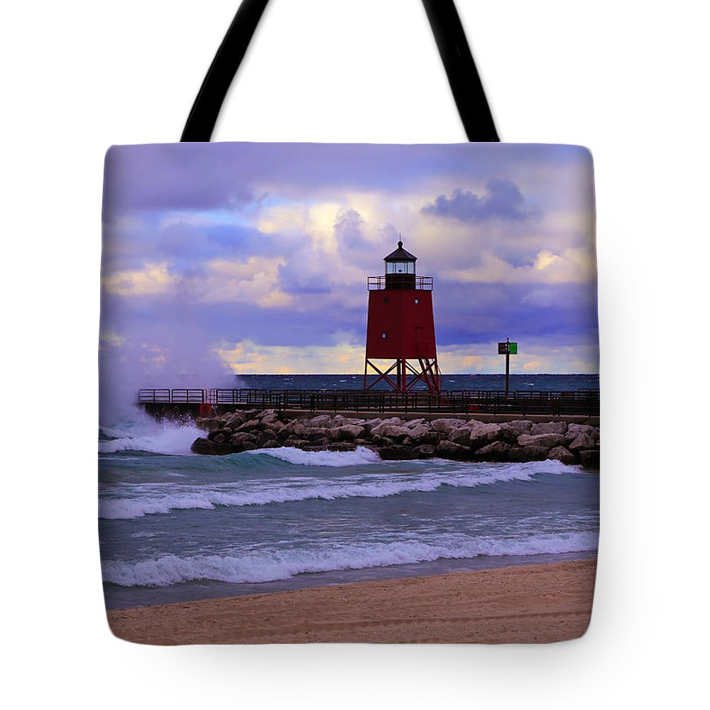 Gales Of November Tote Bag featuring the photograph Gales Of November by Rachel Cohen