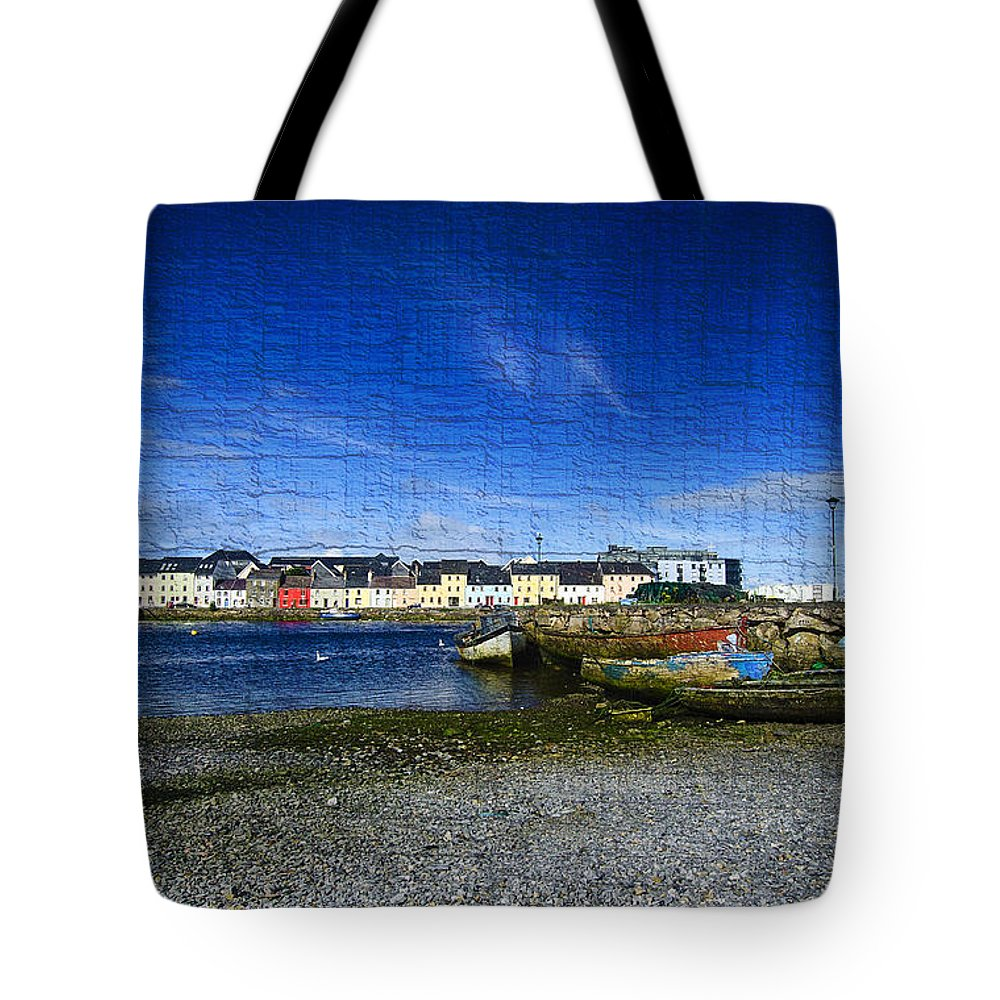 Galway Tote Bag featuring the digital art Galway by Giovanni Chianese