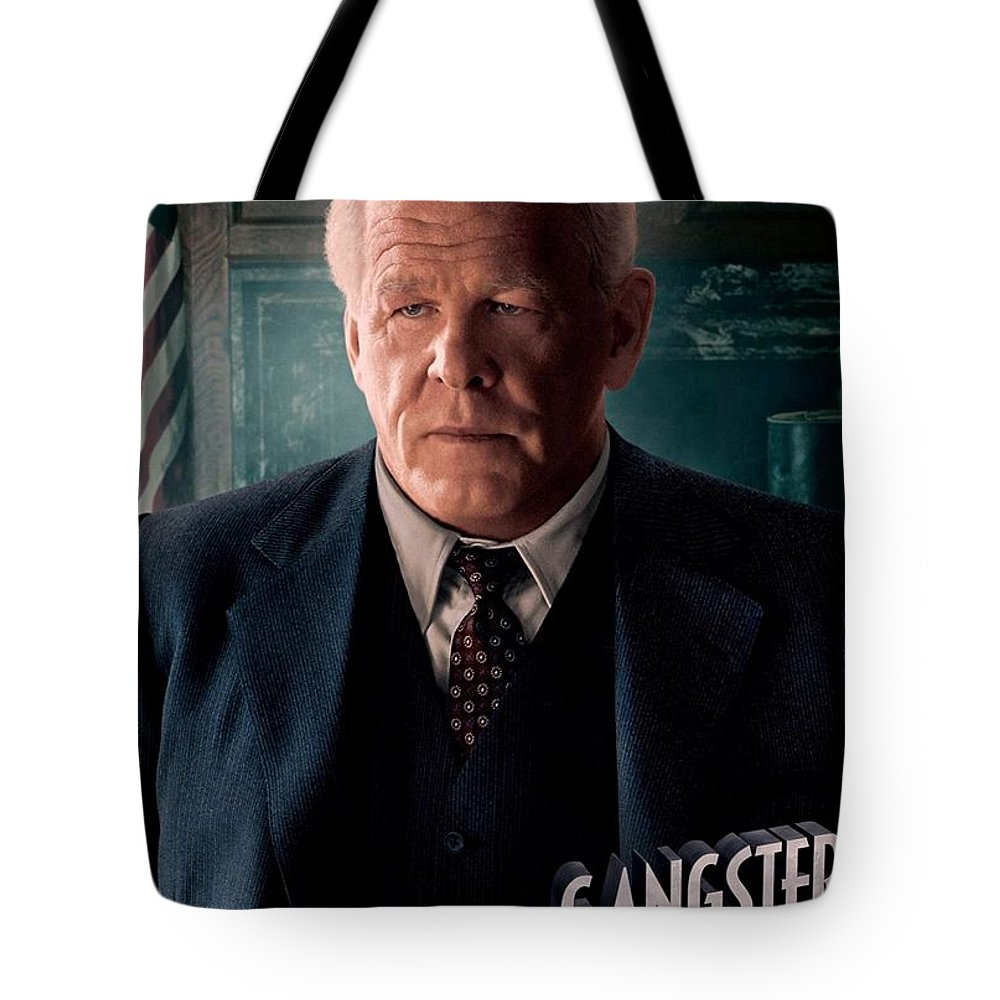 Gangster Squad Tote Bag featuring the photograph Gangster Squad Nolte by Movie Poster Prints