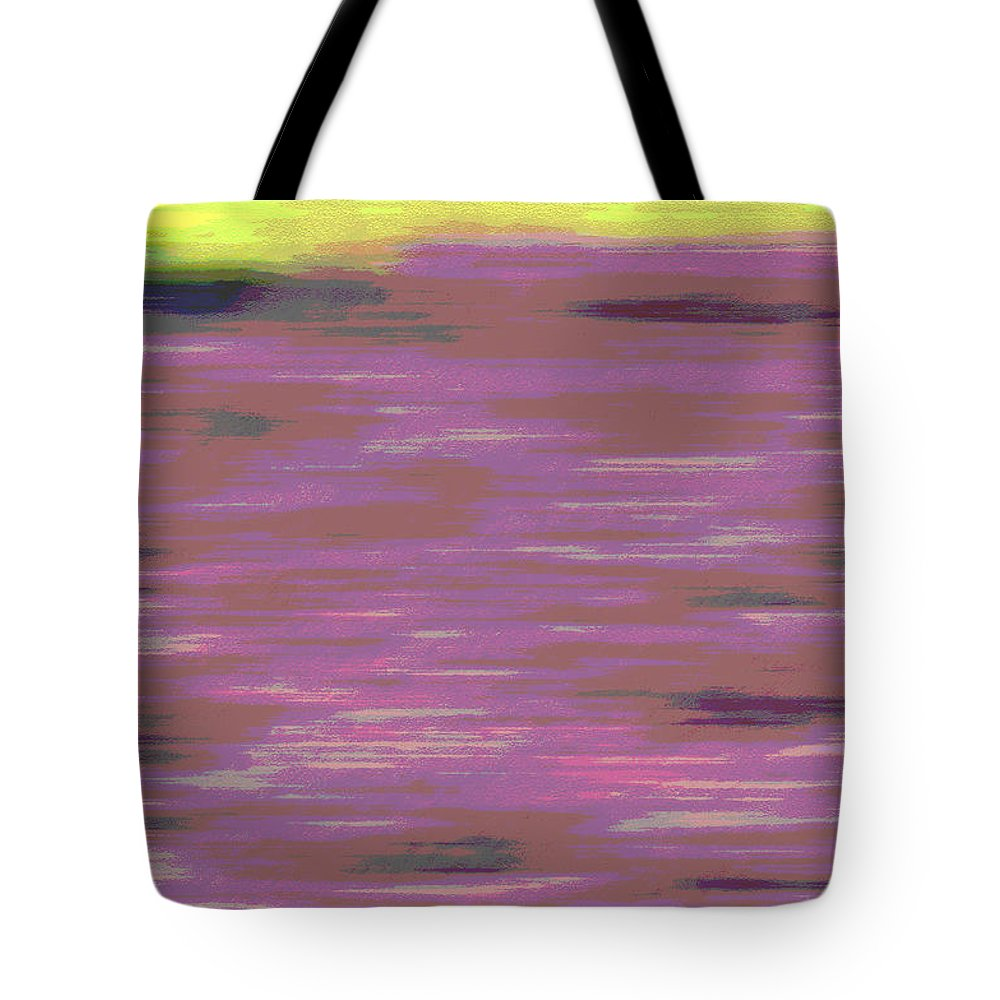 Abstract Tote Bag featuring the photograph Garden Abstract by Suzanne Gaff