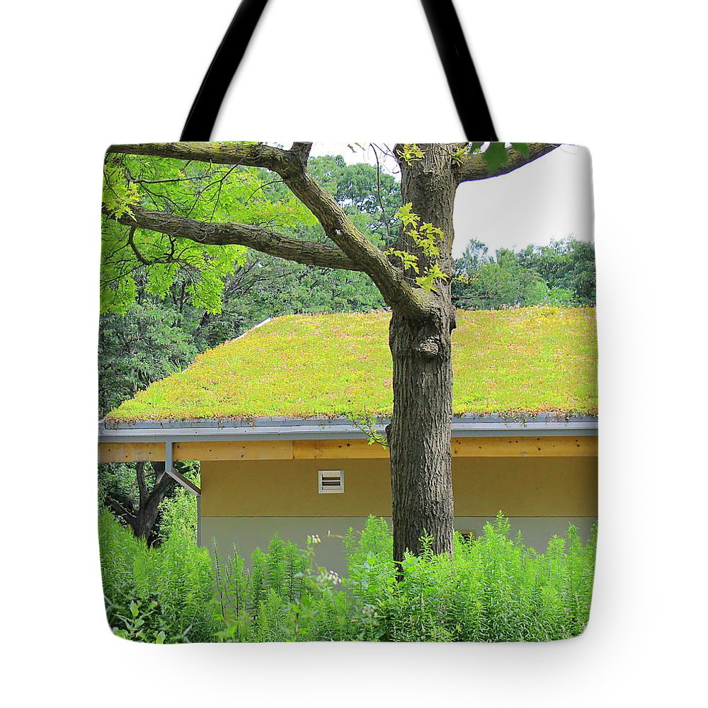 Gardening Tote Bag featuring the photograph Garden House by Kume Bryant