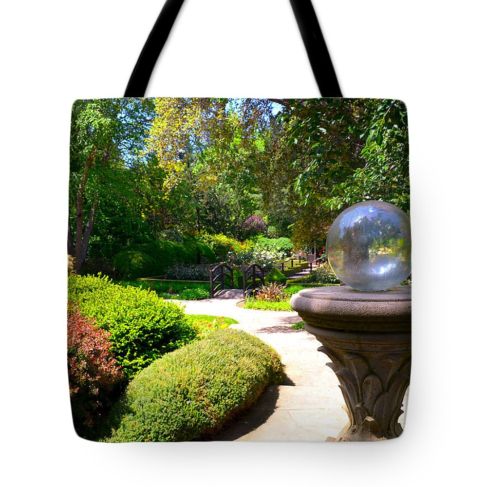 Garden Tote Bag featuring the photograph Garden Of Wishes by Spencer Hughes