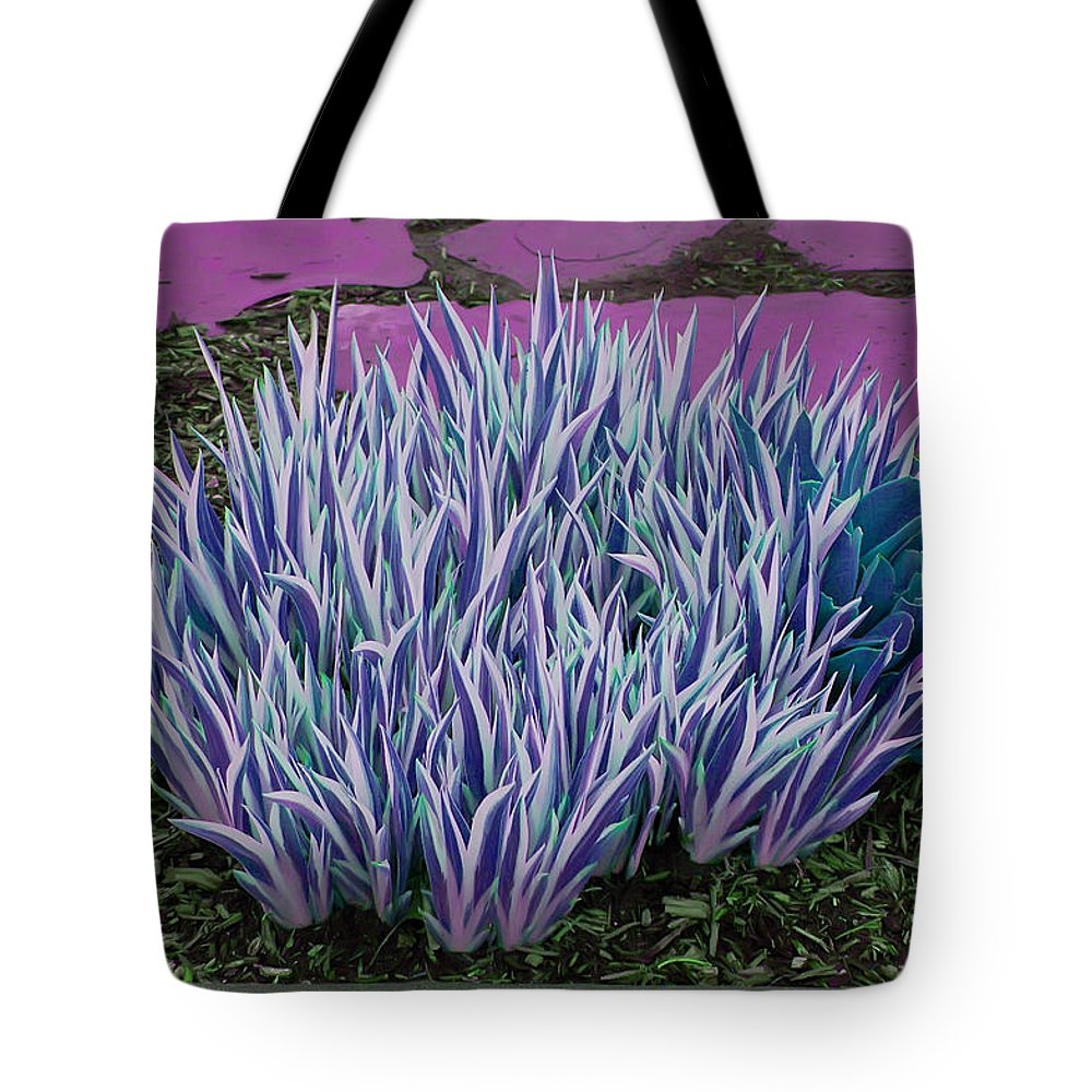Garden Tote Bag featuring the photograph Garden Path by Aimee L Maher ALM GALLERY
