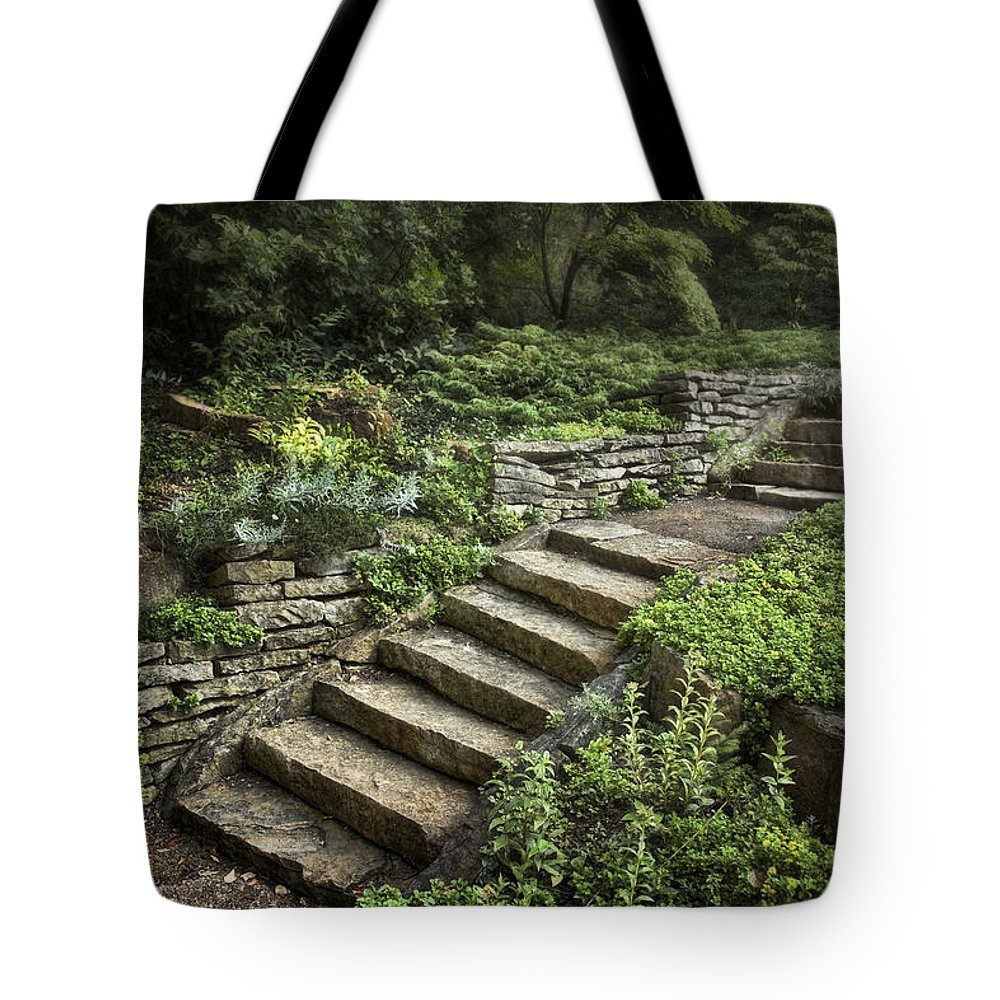 Retaining Wall Tote Bags