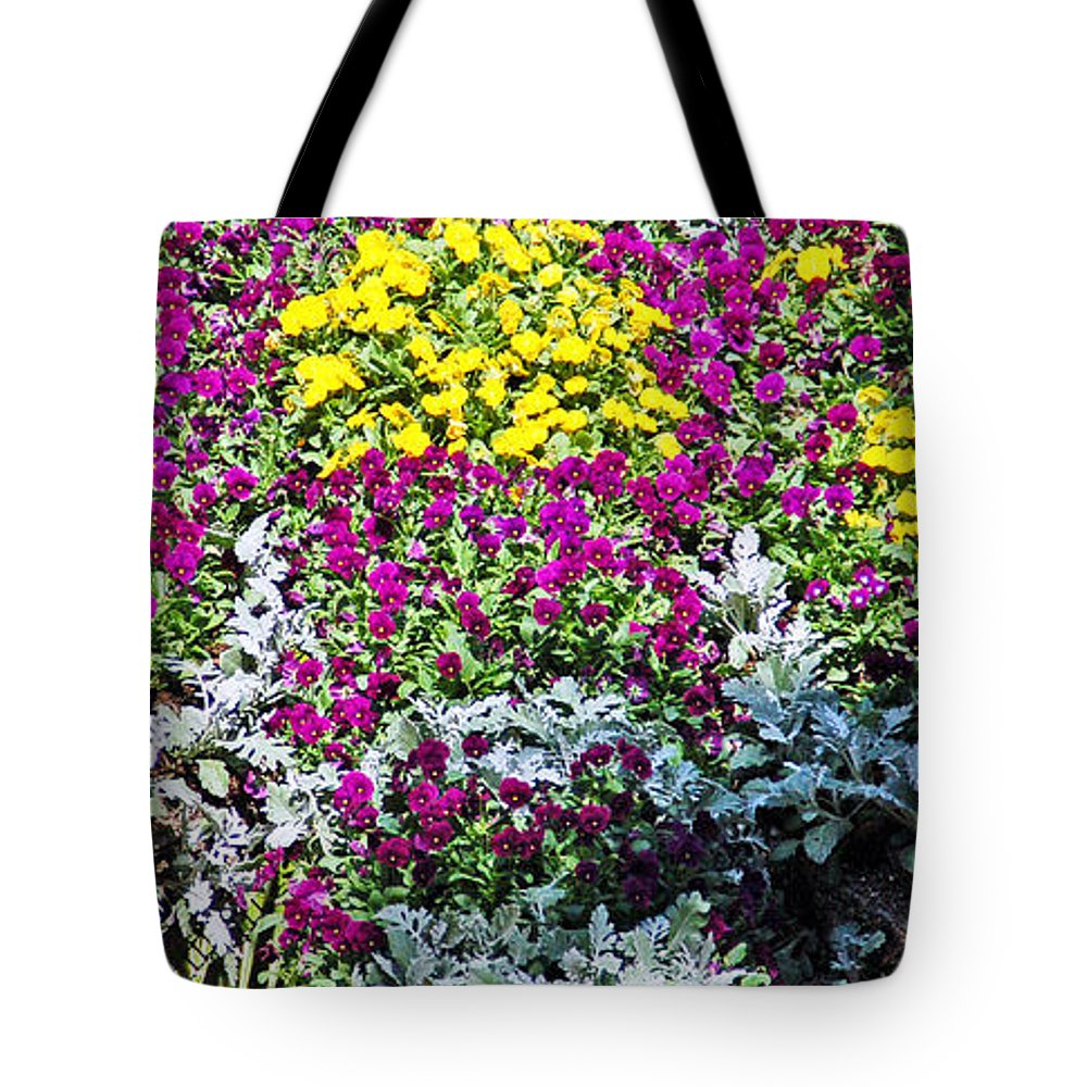 Flower Tote Bag featuring the photograph Garden Variety by Aimee L Maher ALM GALLERY