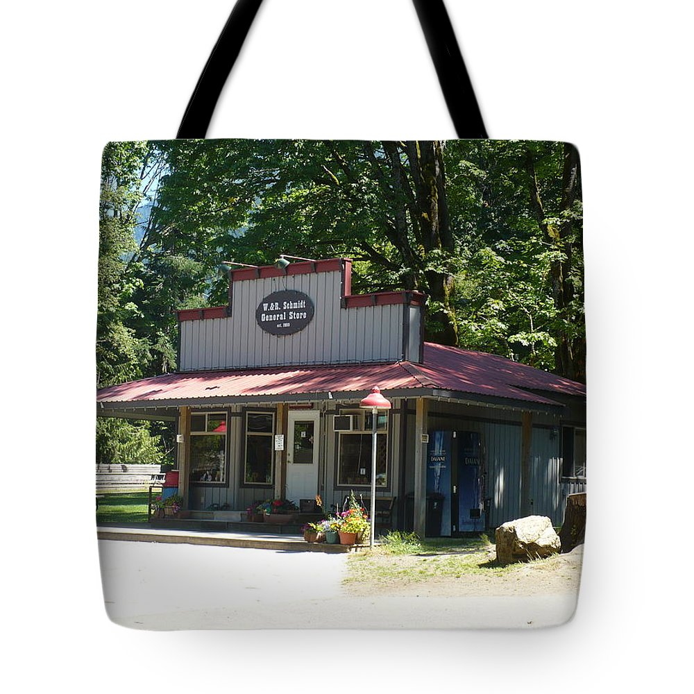 General Tote Bag featuring the photograph General Store by Nicki Bennett
