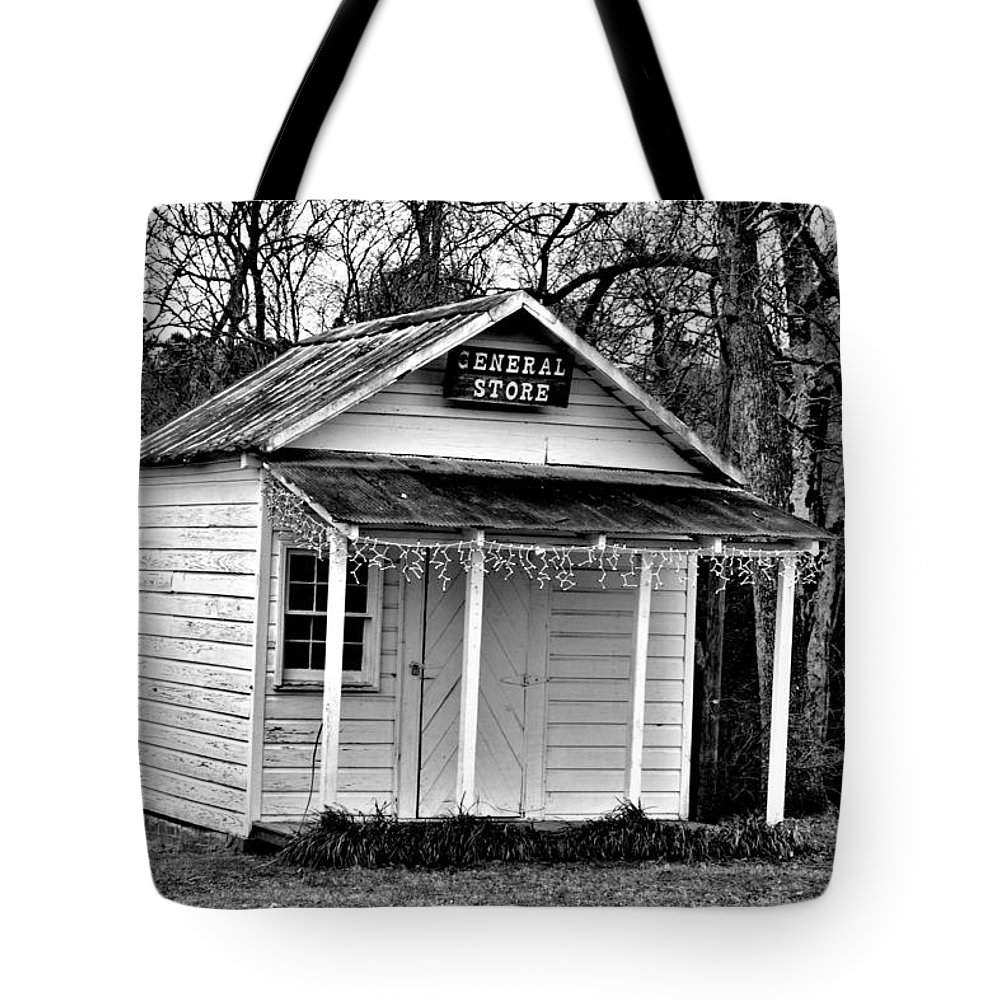 General Store Tote Bag featuring the photograph General Store by Tara Potts