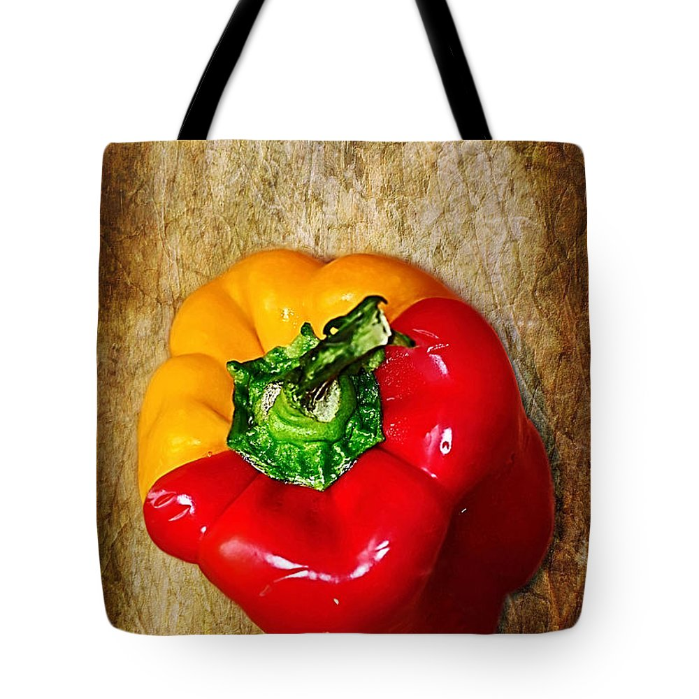 Photography Tote Bag featuring the photograph Genetically Modified Capsicum by Kaye Menner