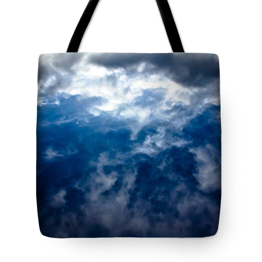 Sky Tote Bag featuring the photograph Genius Loci 2 by Joel Loftus
