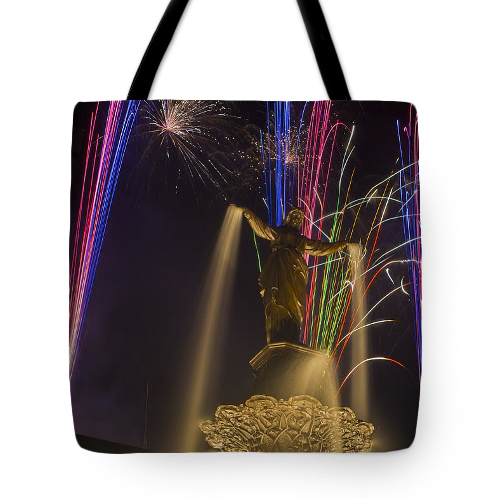 Cincinnati Tote Bag featuring the photograph Genius Of Water 4 by Scott Meyer