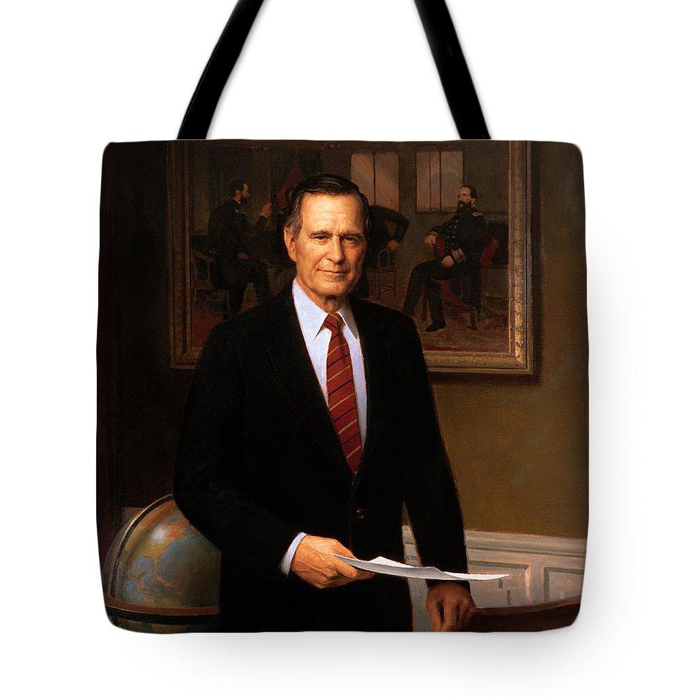 George Bush Tote Bags