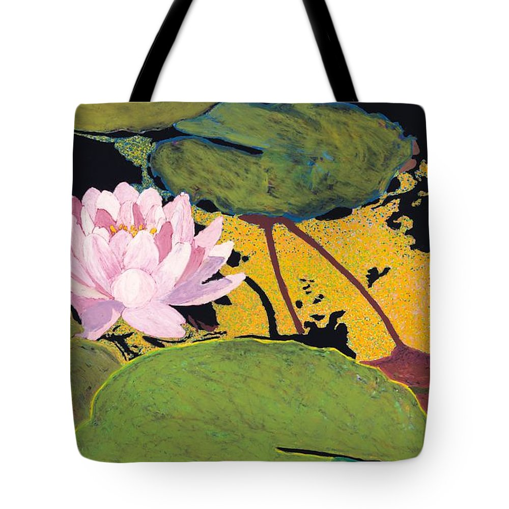 Landscape Tote Bag featuring the painting Georgia Summer by Allan P Friedlander