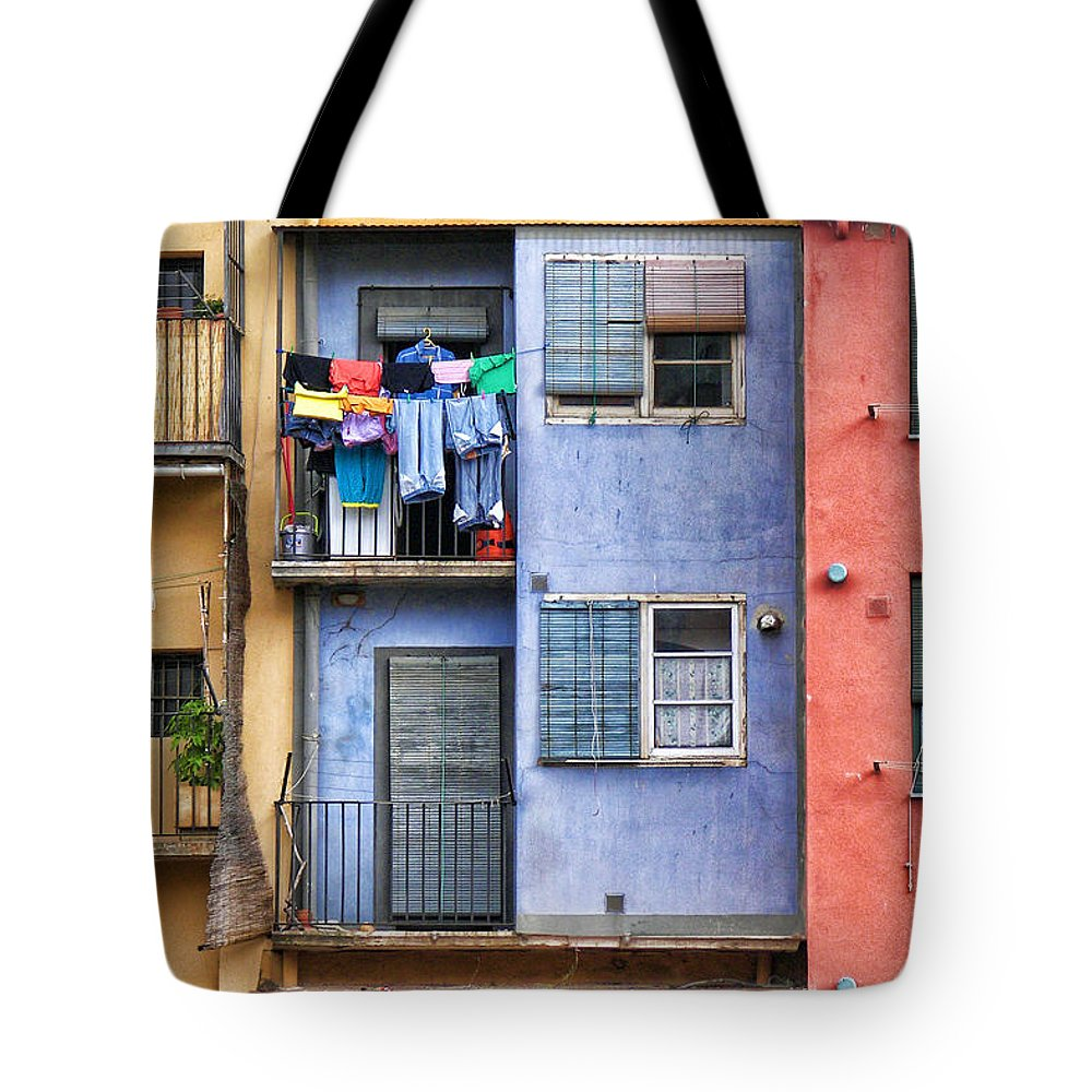 Girona Tote Bag featuring the photograph Gerona - 5 by Nikolyn McDonald