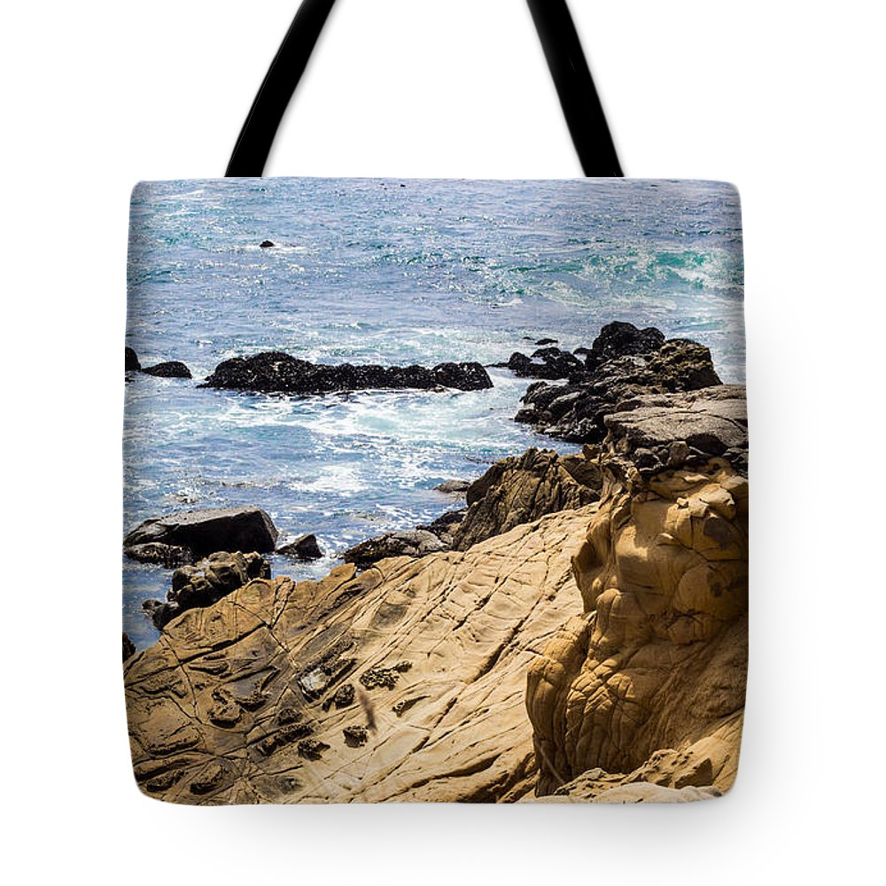 Gerstle Tote Bag featuring the photograph Gerstle Coastline by Suzanne Luft