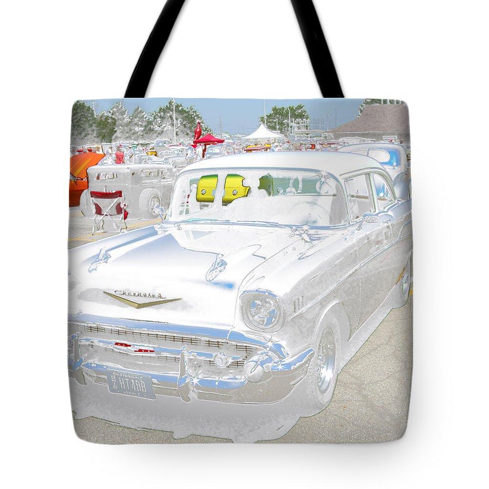 John Holfinger Tote Bag featuring the digital art Ghost by John Holfinger