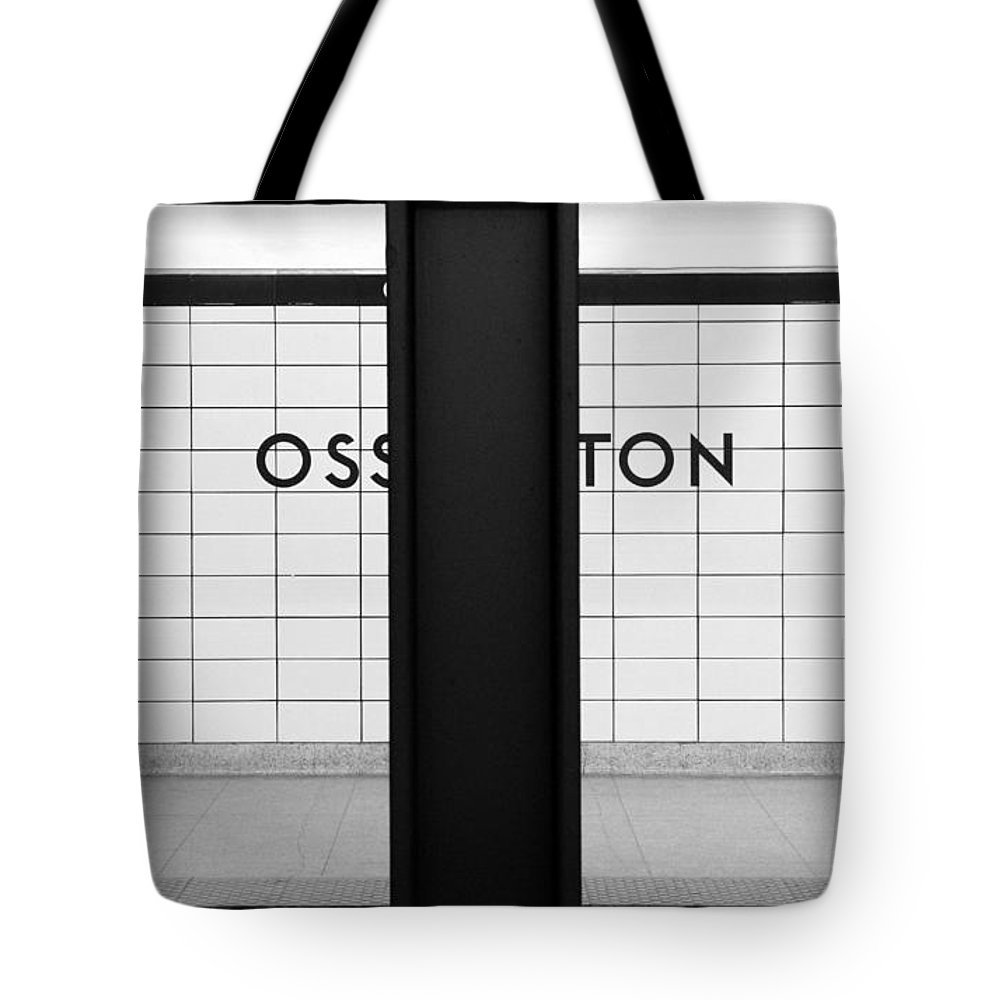 Ghost Tote Bag featuring the photograph Ghost Station by Valentino Visentini
