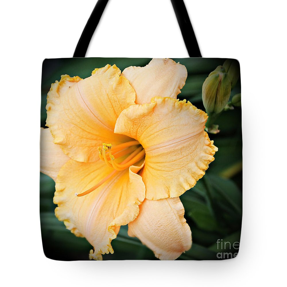 Lily Tote Bag featuring the photograph Gild The Lily by Elizabeth Winter