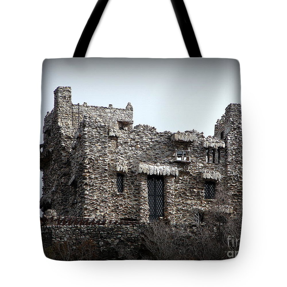 Stone Tote Bag featuring the photograph Gillette Castle by Priscilla Richardson