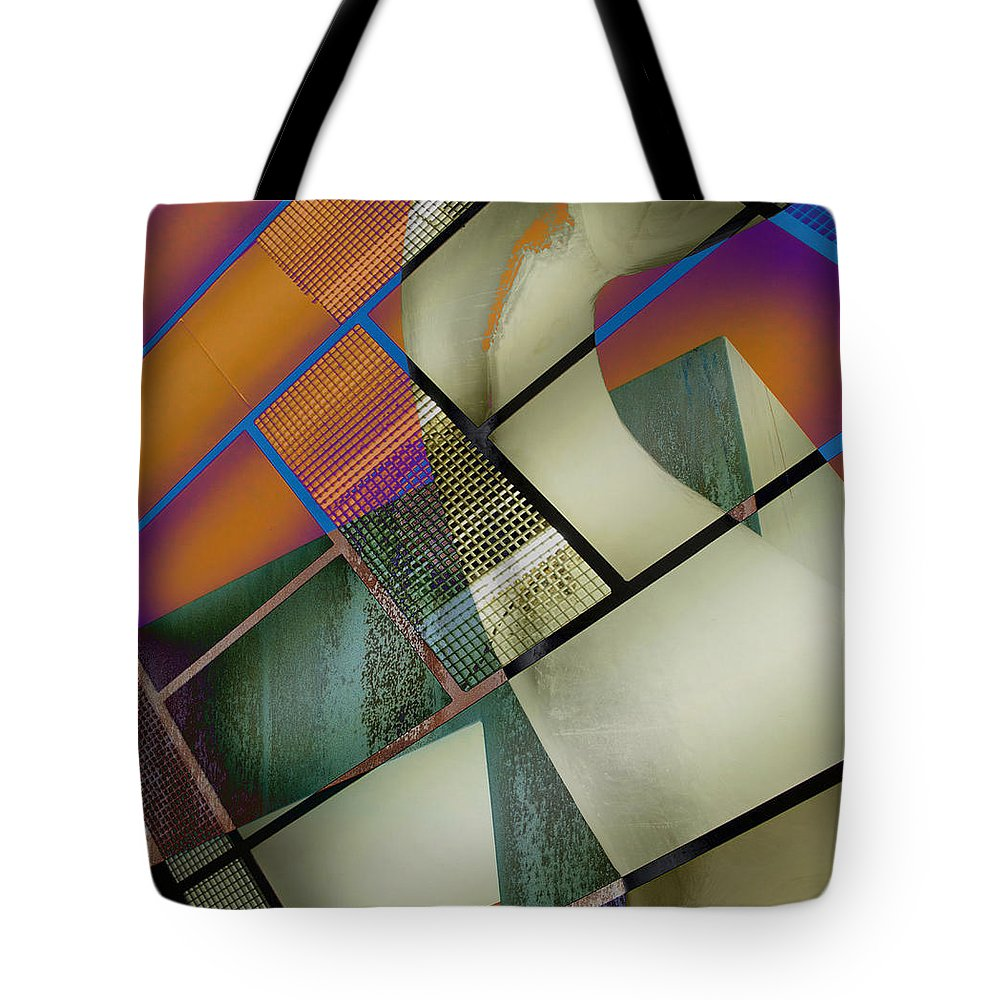 Abstract Tote Bag featuring the photograph Gimmie Back by The Artist Project