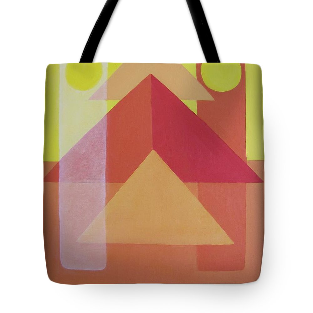 Giza Tote Bag featuring the painting Giza by Michael TMAD Finney AKA MTEE