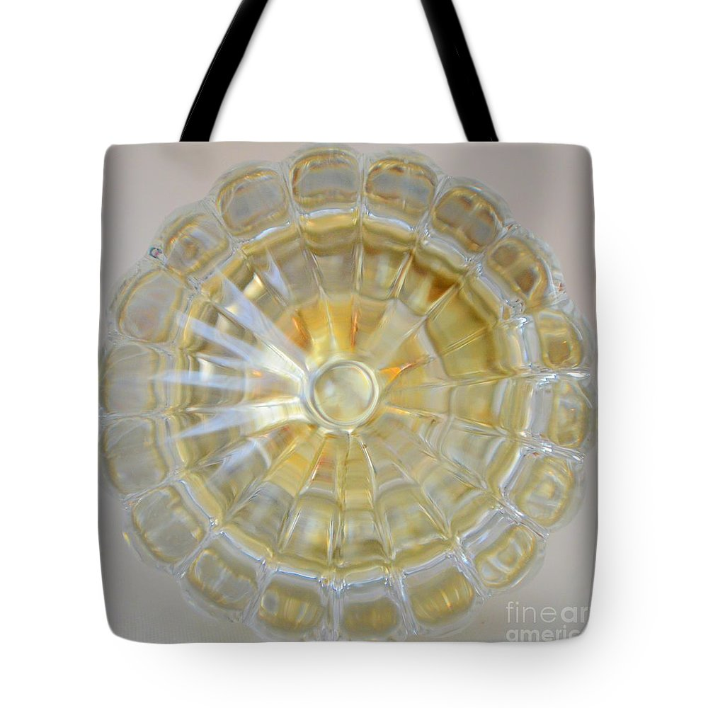 Door Knob Tote Bag featuring the photograph Glass Door Knob by Mary Deal