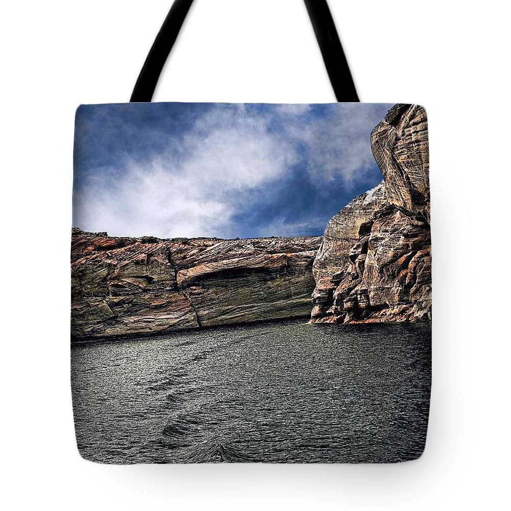 Arizona Tote Bag featuring the photograph Glen Canyon by Tom Prendergast