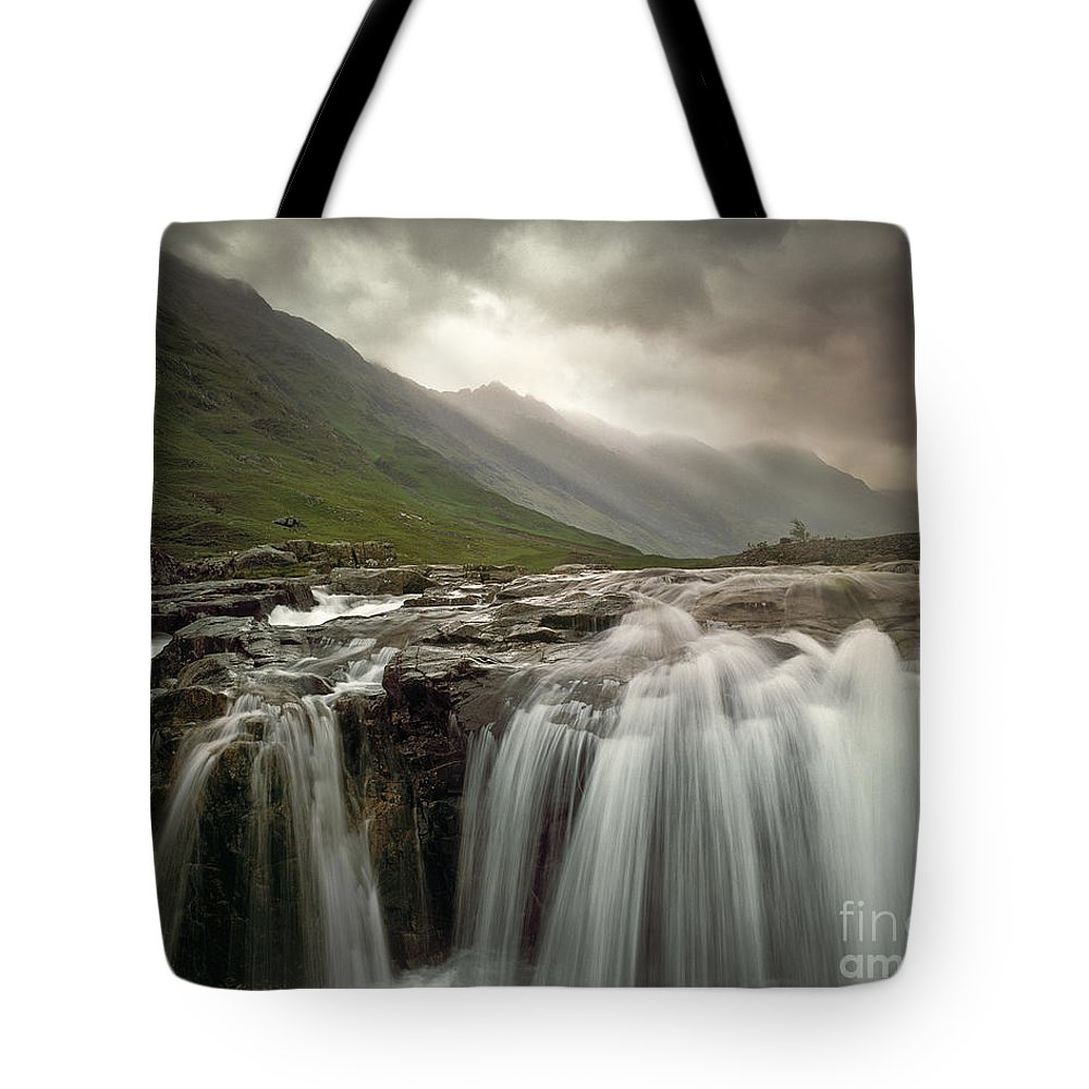 Great Britain Tote Bag featuring the photograph Glen Coe by Edmund Nagele
