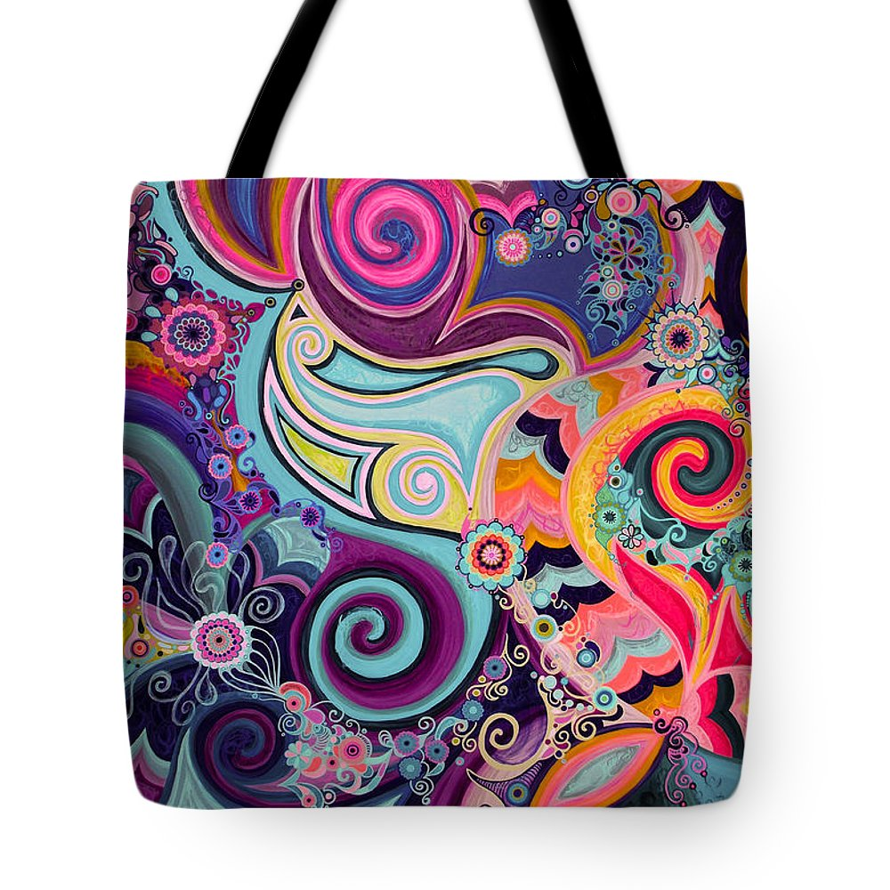 Glorious Tote Bag featuring the painting Glorious Day by Beth Fowler