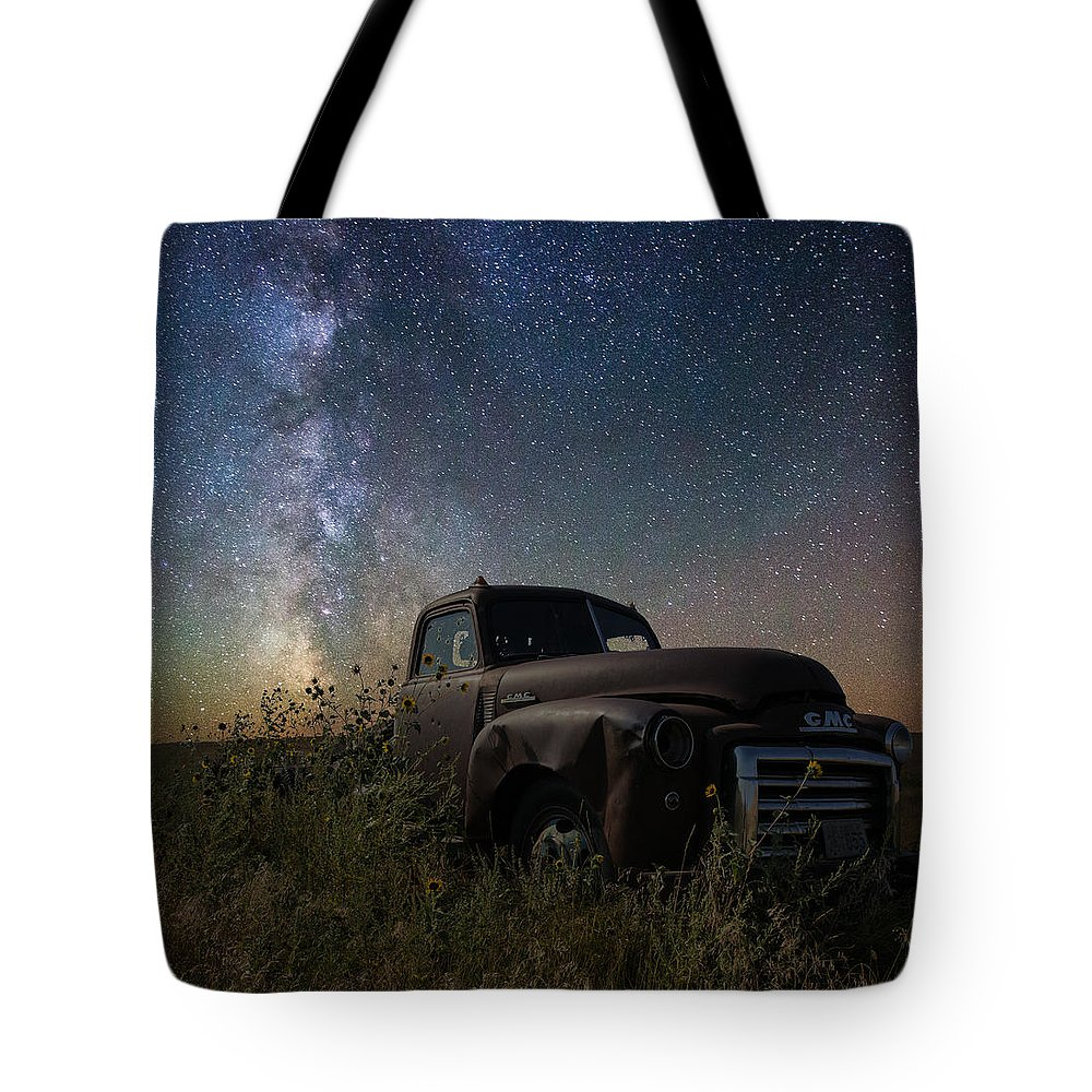 Gmc Tote Bag featuring the photograph GMC by Aaron J Groen