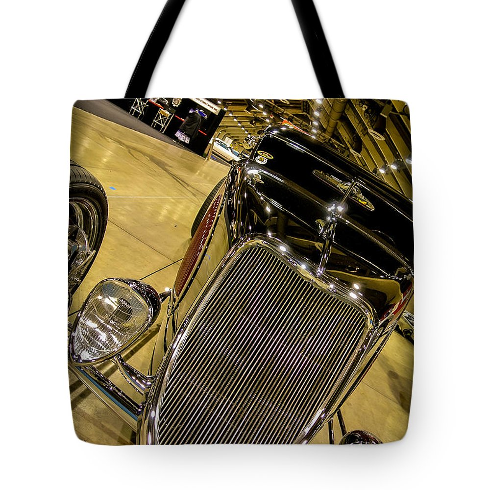 34 Tote Bag featuring the photograph Gnrs Coupe by Customikes Fun Photography and Film Aka K Mikael Wallin