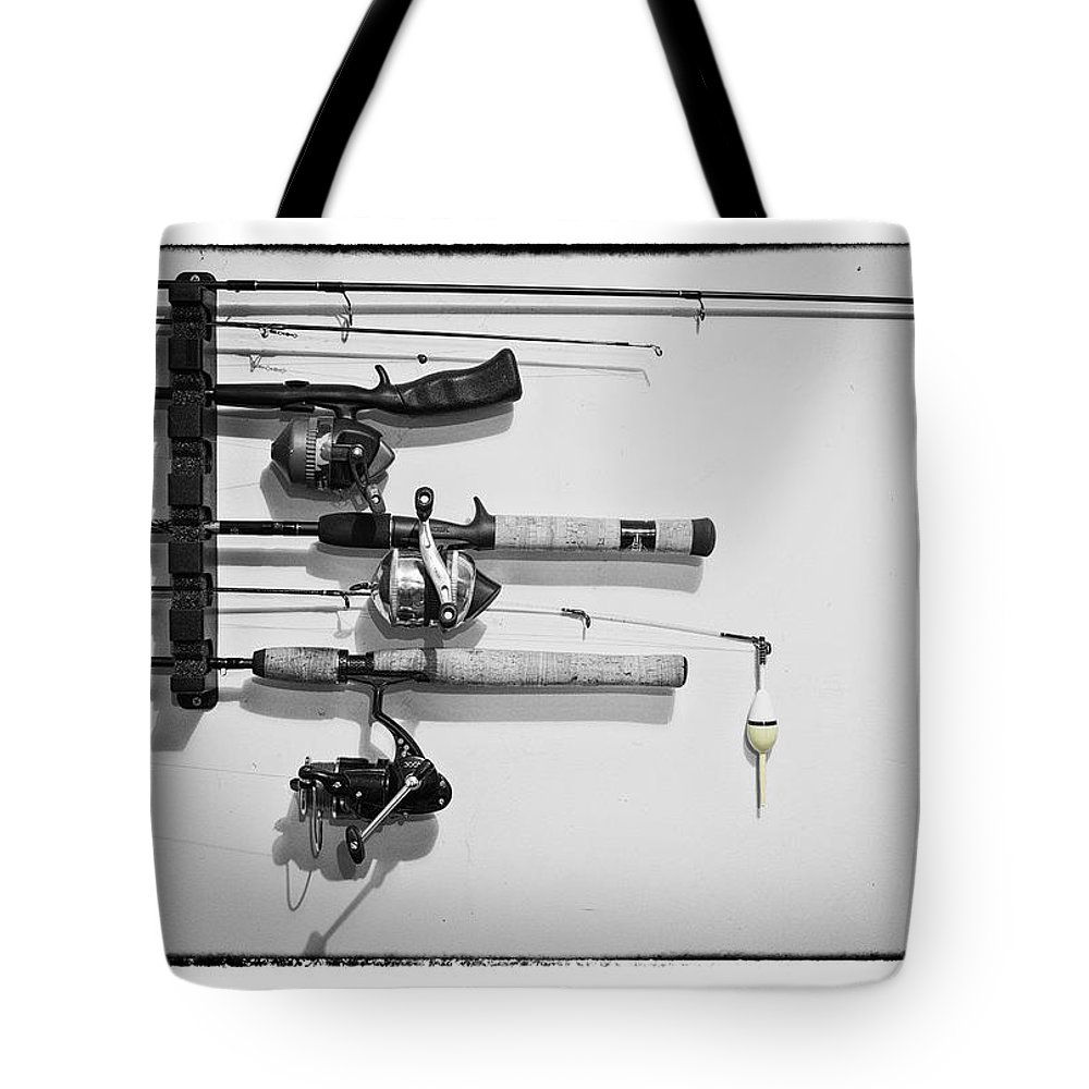 Grunge Tote Bag featuring the photograph Go Fish - Art Unexpected by Tom Mc Nemar