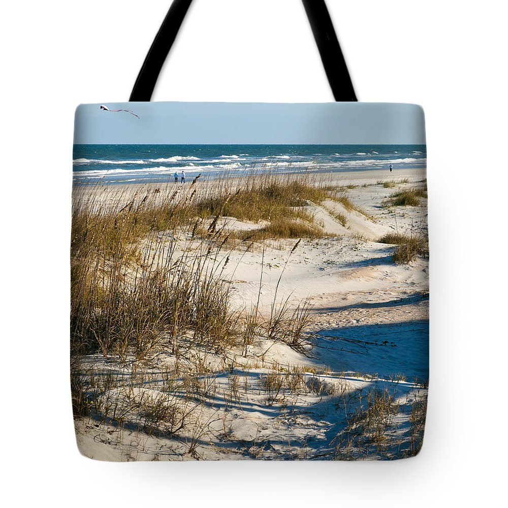 Go Fly A Kite Tote Bag featuring the photograph Go Fly A Kite by Michelle Constantine