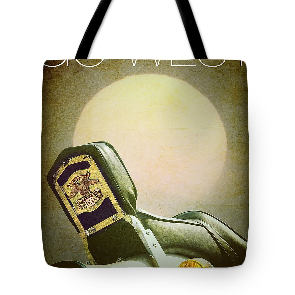 Vertical Tote Bag featuring the photograph Go West by Edmund Nagele