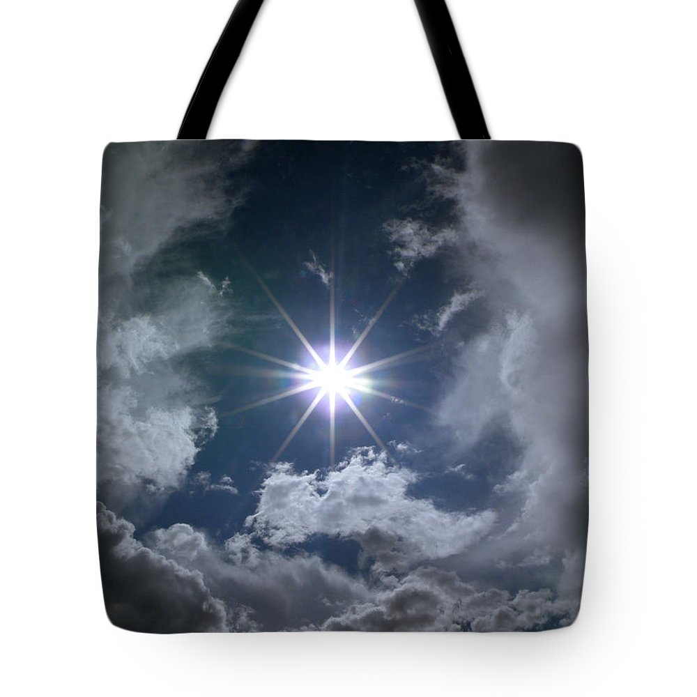 God Tote Bag featuring the photograph God External by M Pace