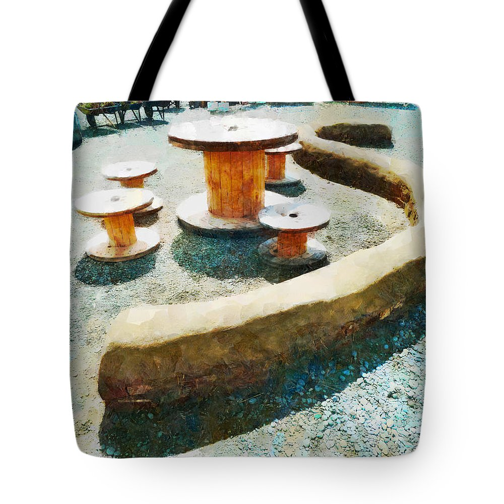 S-bend Tote Bag featuring the photograph Going Round The Bend by Steve Taylor