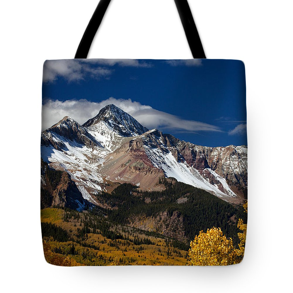 Colorado Landscapes Tote Bag featuring the photograph Golden Afternoon by Darren White