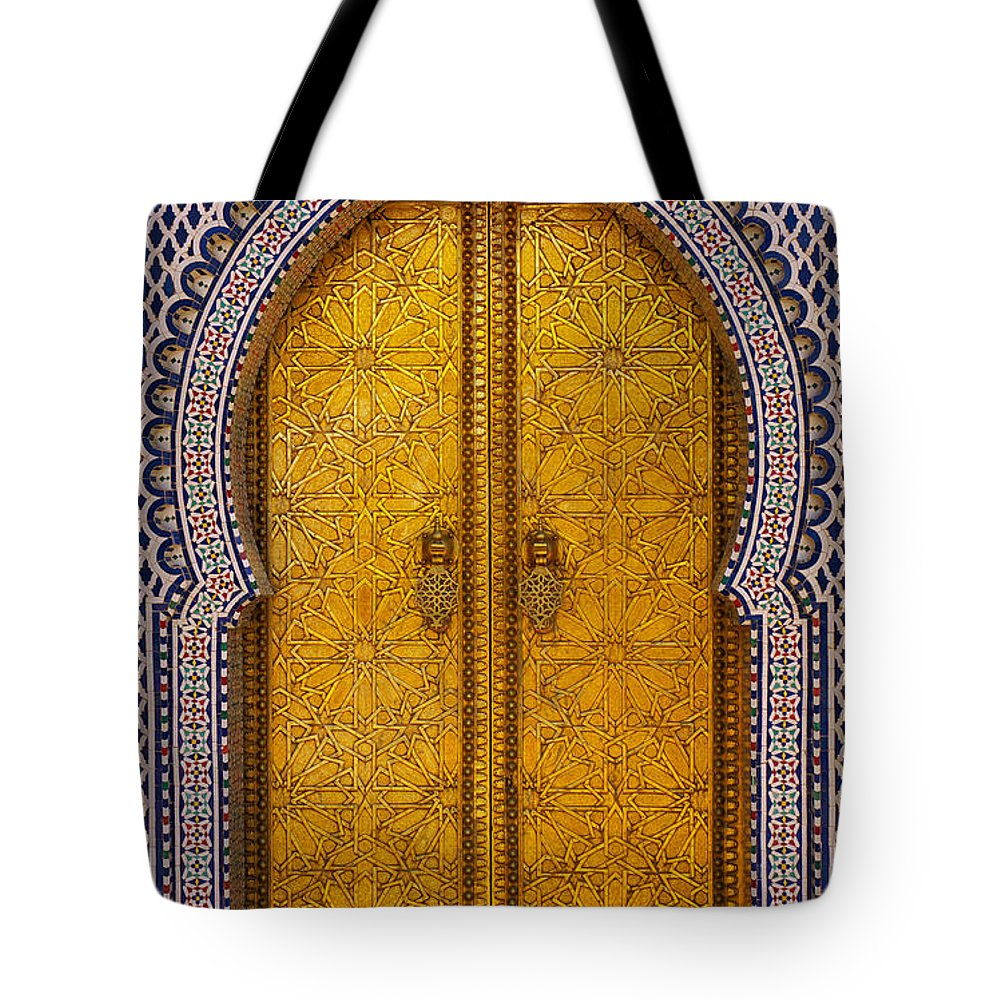 Africa Tote Bag featuring the photograph Golden Door by Ivan Slosar