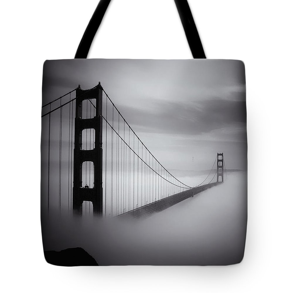 Golden Gate Bridge Tote Bag featuring the photograph Golden Gate by Ingrid Smith-Johnsen
