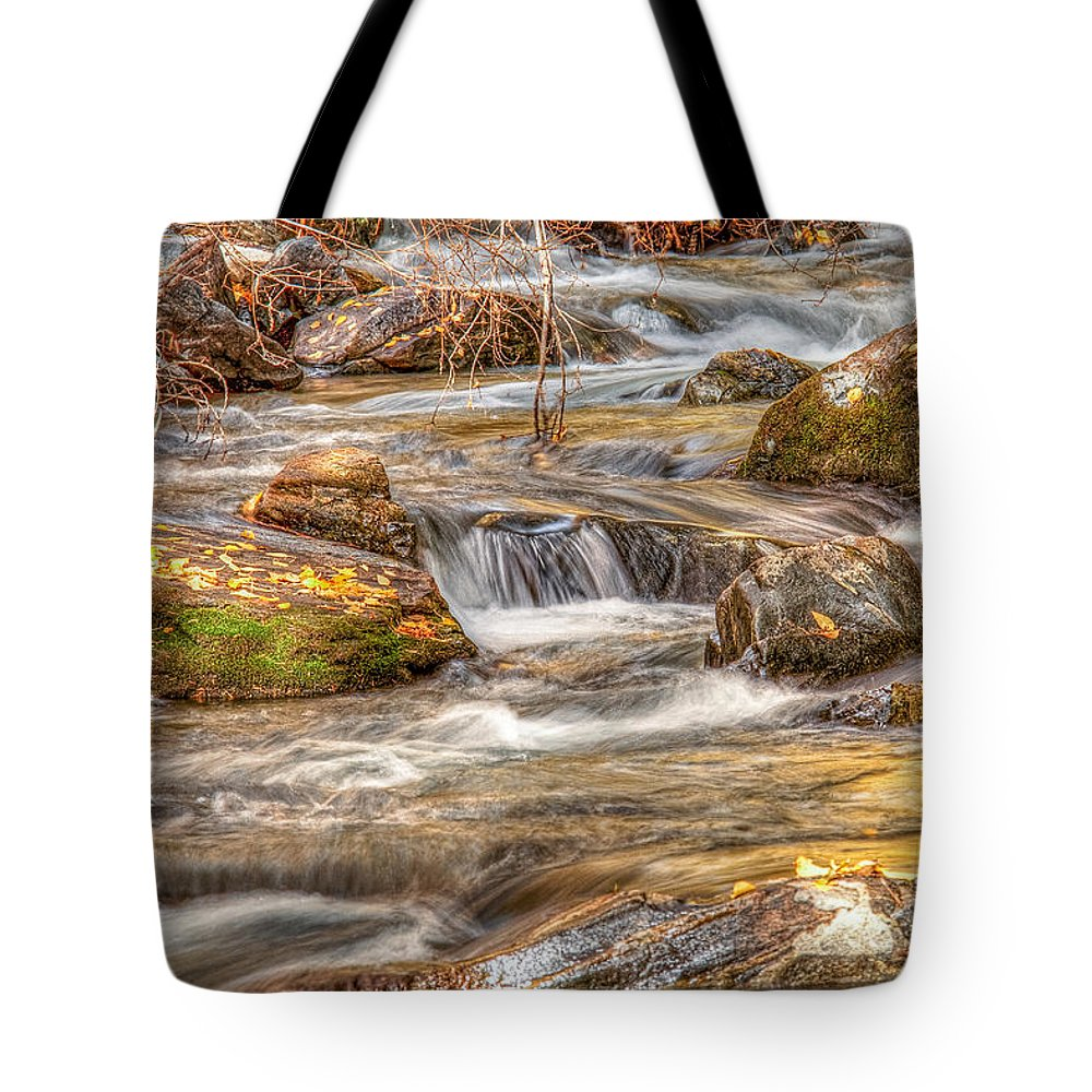 New Mexico Tote Bag featuring the photograph Golden Light by Tom Weisbrook