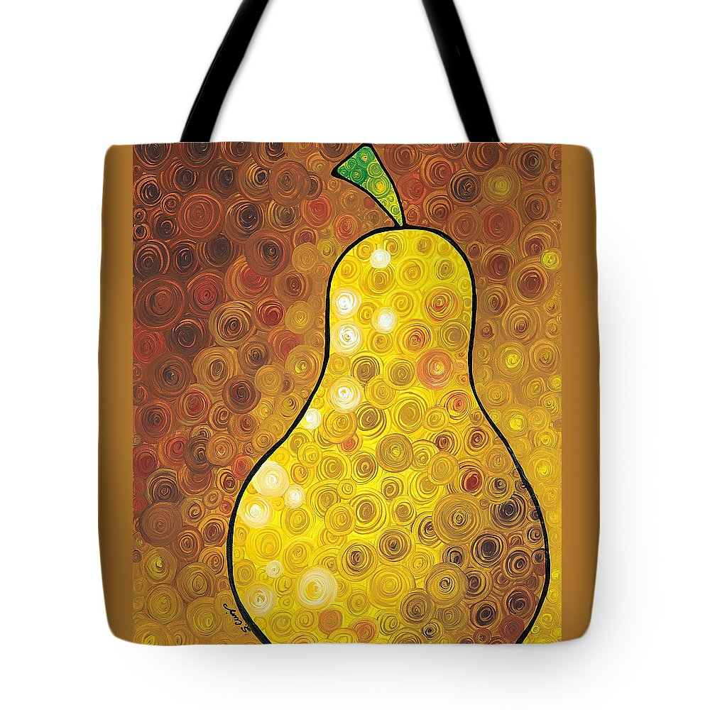 Pear Tote Bags